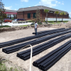 LONG LIFE PIPE SYSTEM REPLACES PROBLEM PLAGUED GRAVEL SYSTEM