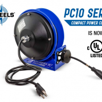 The PC10 Series power cord reel joins the line-up of UL Listed Certified COXREELS® products